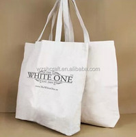 Wholesale 100% Organic Blank Cotton Canvss Bag /Eco Cotton Tote Bag