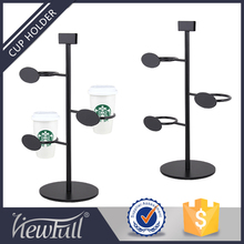 New Products Coffee Cup Display Stand Display Rack For Shop Display