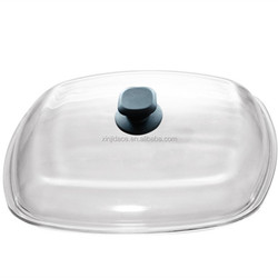 G type glass lid cookware glass cover