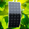 High efficiency 100w thin film solar panel flexible factory direct