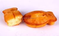 Fish model mini cake snack