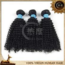 aliexpress Cheap real canbe dyed/bleached afro kinky curl virgin brazilian human hair weave wholesale brazilian hair bundles
