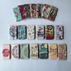Elegant Vintage Floral Style Wallet PU Leather Flip Case Cover Pouch For Phone 6