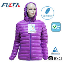 Lady quilted jackets in winter/ padded jackets
