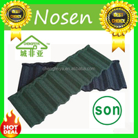 stone chips coated aluminum roofing covering