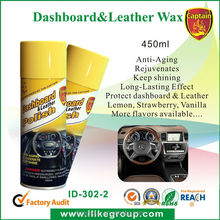 Cockpit dashboard polish cleaner wax