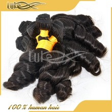Wholesale 6a brazilian 100% human hair funmi hair afro world hair