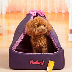 For Small Dogs Purple Rattan Disposable Dog Beds