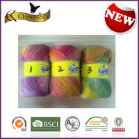 2015 new fashion in North American Jacquard wool knitting yarn/thread