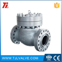 carbon steel/ss ansi150/pn16/pn25 18inch swing type lever check valve good quality