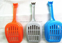 Pet cat with cat litter shovels More high quality cat feces shovels Toilet appliance cleaning supplies