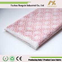 fuzhou 2015 fashion design french lace fabric small diamond flower white lace mesh lace for wedding dress underwear shoe bag