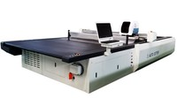 fabric layer cutting machine for garment computerized automatic knife cutter foam leather denim cutting machine
