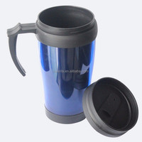Specializing in the production double wall plastice Travel Mugs with handles