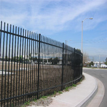 ISO 9001 best selling decorative wrought iron fence spear top/ Models of gates and iron fence (manufacturer)