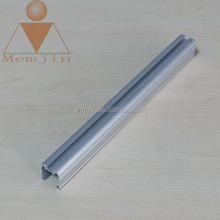 customized anodized aluminum profile for solar panel border in alloy 6061 6063 t5 t6 temper
