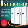 Newest design Full Automatic price incubator 5000 eggs chicken, incubator and hatcher for egg , incubateur KFC-12672