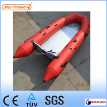 CE certificate korea pvc or hypalon material 3.6m folding inflatable fishing boat