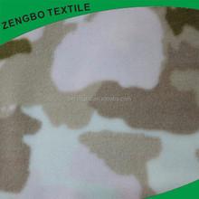 100 polyester camouflage print polar fleece fabric