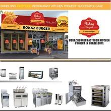 fast food attrezzature di ristorazione in vendita