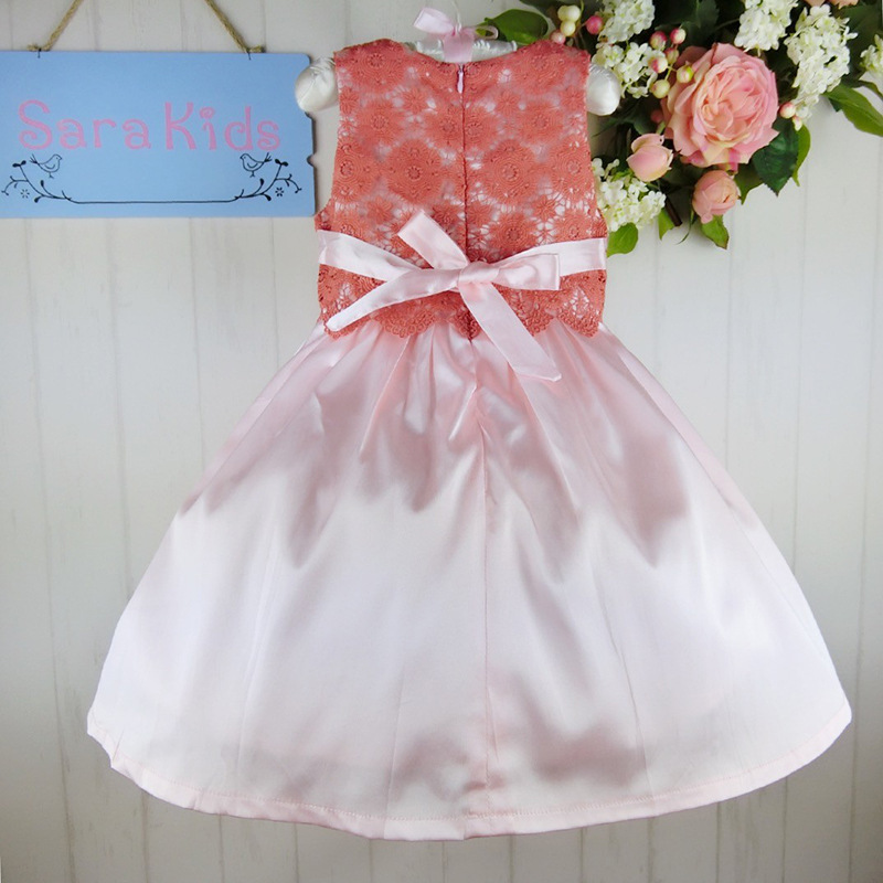 2015 New Hand Embroidery Designs Party Dress For Baby