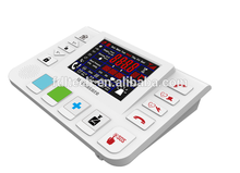 FDL-T3 portable emergency alarm, LCD GSM wireless emergency alarm ,SMS GPRS 3G Transmission