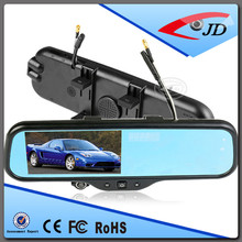 New Products 5 Inch Touch Screen Android System Rearview Mirror Radar Detector with GPS Bluetooth Camera