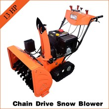 13HP Professional automatic tractor Snow Thrower/ Snowblower