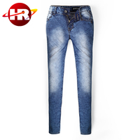 New fashion China wholesale pants jeans for women in good washing effect