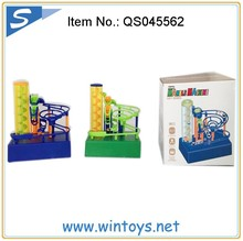 2015 hot new product Plastic maze marble run game childrens BO electric track marble race toys