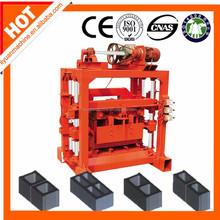 Cement block making machine QTJ4-40C semi-automatic brick making machine hot sale in Africa with service centers