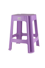 High Quality Plastic Chair Small Square plastic Stool Stocked Chair