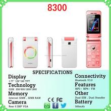 Cheap China Flip teléfono con pantalla 1.77inch celulares