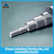 Stainless steel perforated tubes for food industry, construction, upholstery and industry instrument