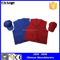 Multi Pockets and Front Zipper Closure Photographer Vest