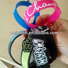a lot of personalized silicone bracelet,energy bracelet