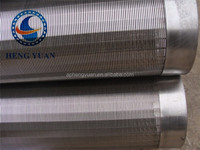 Hebei Low Carbon Galvanized/Stainless Steel water well screen,wedge wire screen (factory)