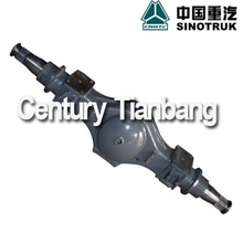 HOWO TRUCK SUSPENSION,AXLE AND CHASSIS HIGH QUALITY PARTS AZ9231330265 REAR AXLE HOUSING FOR SALE