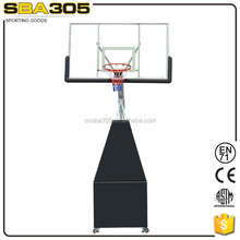removable professional acrylic basketball stand for training