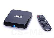 Google Android 4k tv box android 4.4 amlogic 8726 M8 quad core android tv box