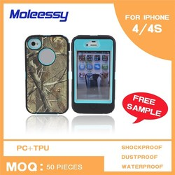 2015 New Arrival 3 in 1 3-in-1 phone case for i phone 4s/4g