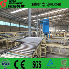 gypsum board manufacturing machine for construction building
