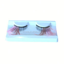 human hair hand made false eyelashes 10 pairs
