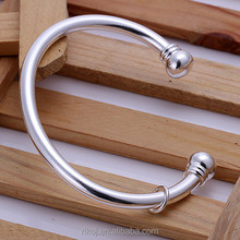 2015 Newest product 925 sterling silver Circular bangle jewelry