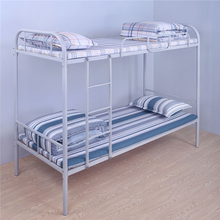 school student adult Dormitory metal tube frame bunk bed