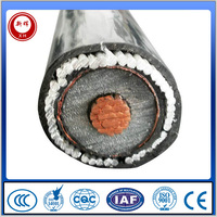 XLPE insulated wire multi-core steel armored cable