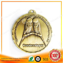 Heavy Duty world championship medal bronze metal medal, Fast delivery
