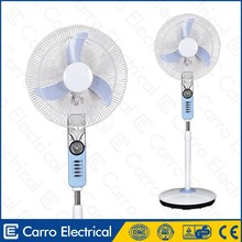 Good sale low power 15W outdoor floor fans 16inch pedestal fan 12v