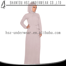 MD Z003 Fashion abaya women casual muslim women long dress pure color long sleeve abaya wholesale moroccan dress kaftan for sale