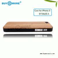 luxury bamboo and zebra wooden case for iphone5